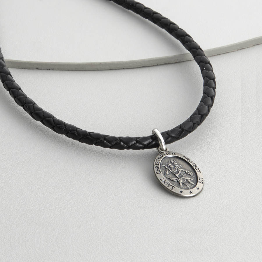 original_personalised-silver-st-christopher-necklet