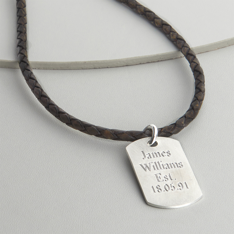 dog tag necklet website