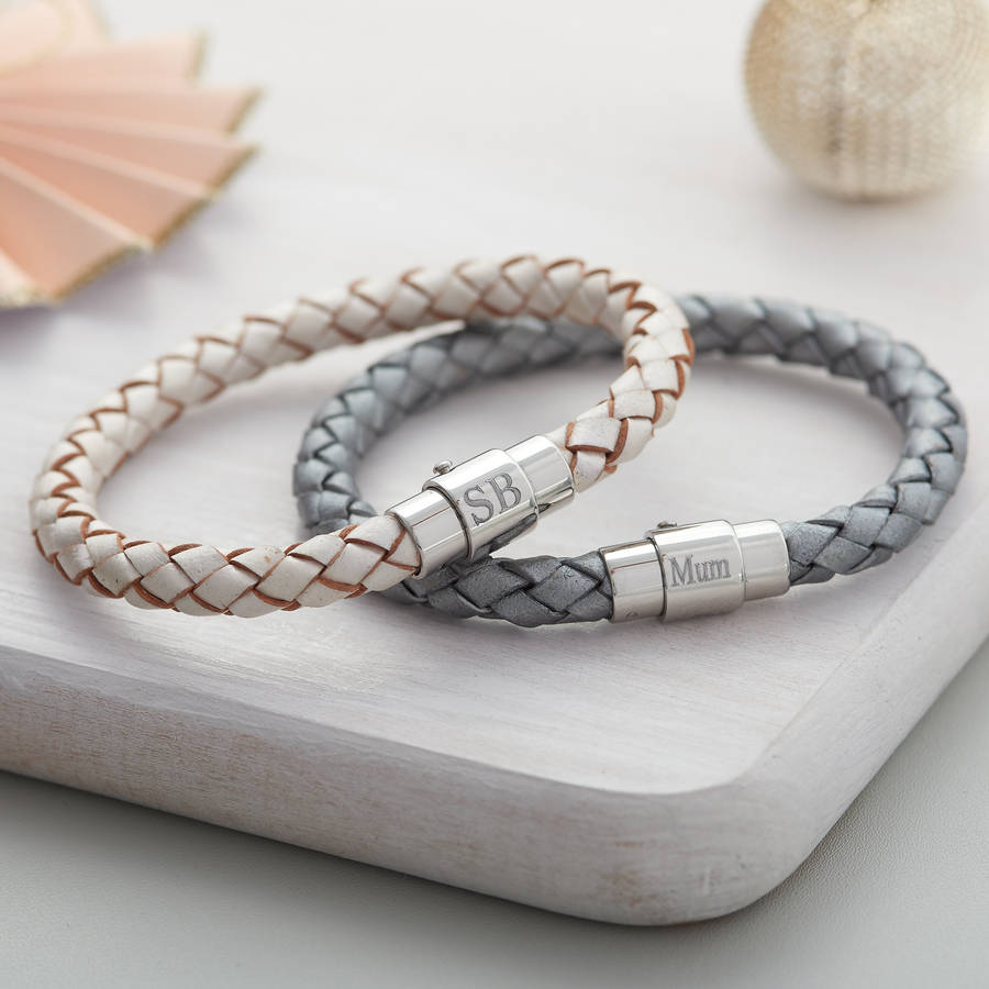 original_ladie-s-personalised-clasp-plaited-leather-bracelet