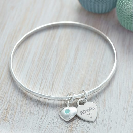 DECEMBER PERSONALISED BANGLE copy