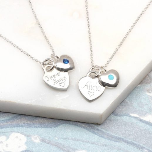 original_birthstone-personalised-silver-heart-necklace