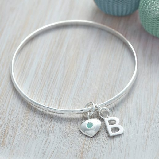original_birthstone-personalised-sterling-silver-initial-bangle