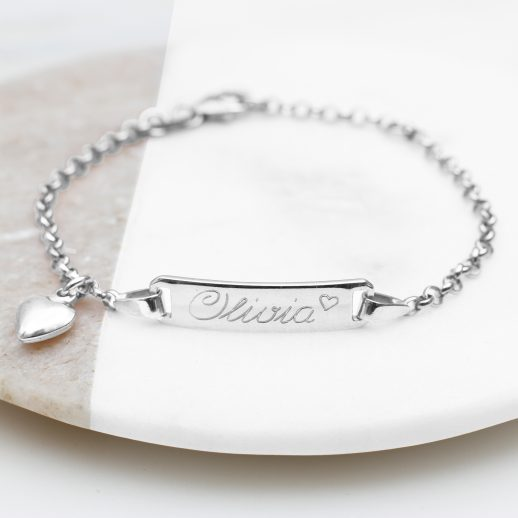 Childs-Personalised-Silver-Christening-Bracelet