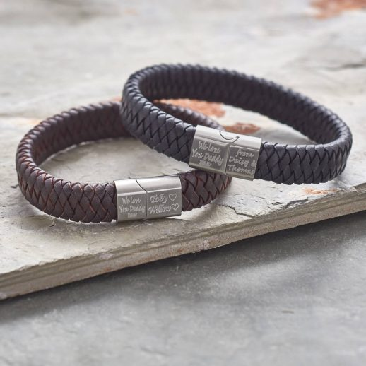 original_men-s-brushed-steel-and-leather-bracelet