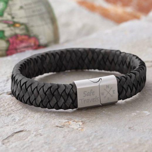 original_men-s-traveller-compass-personalised-leather-bracelet
