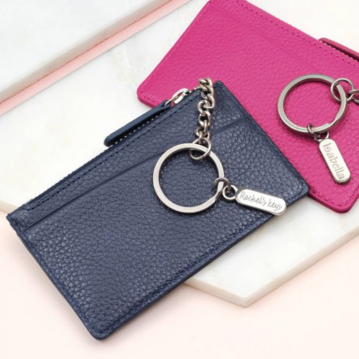 original_metallic-leather-purse-with-personalised-silver-keyring