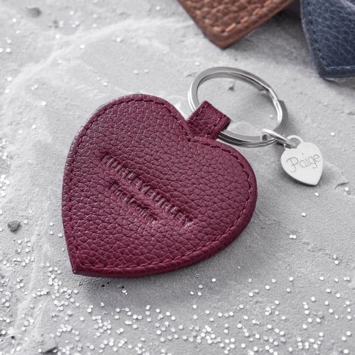 original_personalised-textured-leather-heart-charm-keyring