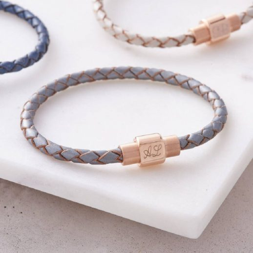 original_leather-and-personalised-rose-gold-clasp-bracelet-silver-hurley-burley