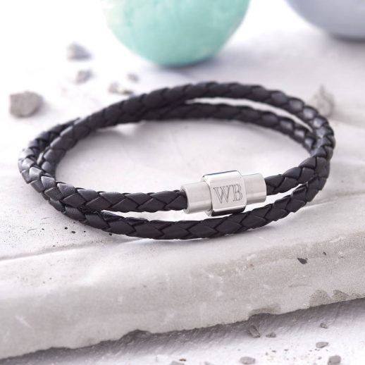 original_mens-personalised-clasp-double-leather-bracelet
