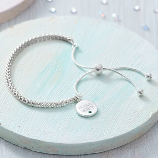 original_personalised-silver-disc-birthstone-friendship-bracelet