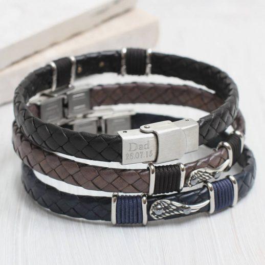 original_personalised-men-s-angel-wing-leather-bracelet