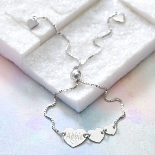 original_personalised-sterling-silver-triple-heart-bracelet