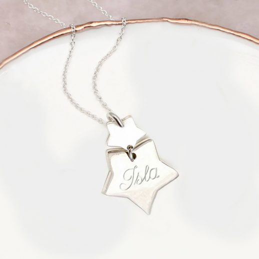 double-star-necklace-name
