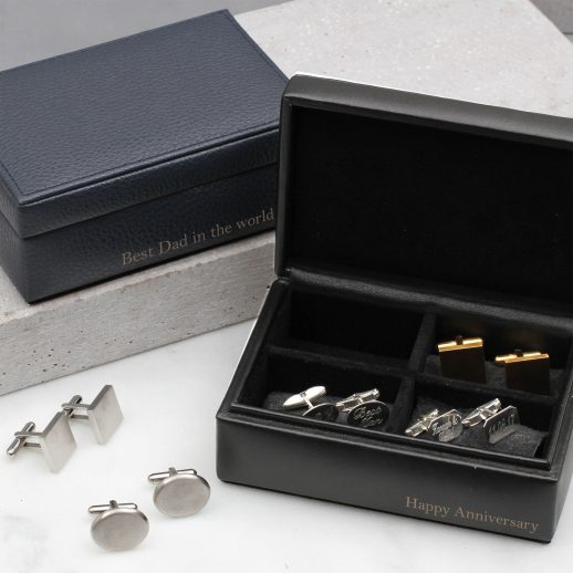 mens-cufflink-navy-textured-leather-box-jewellery-hurley-burley