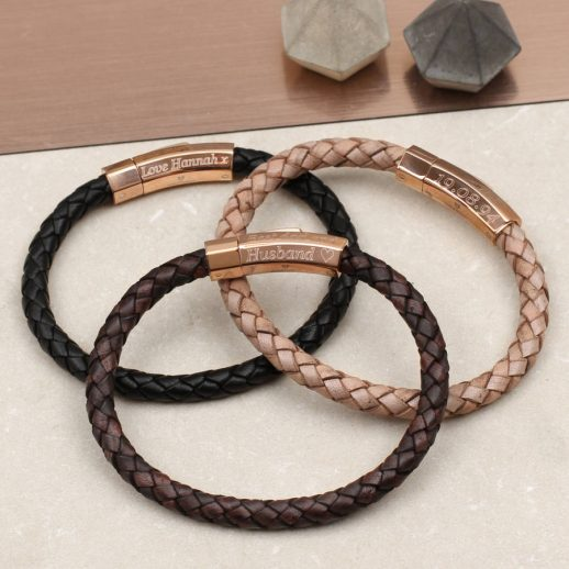 original_personalised-rose-gold-clasp-leather-bracelet