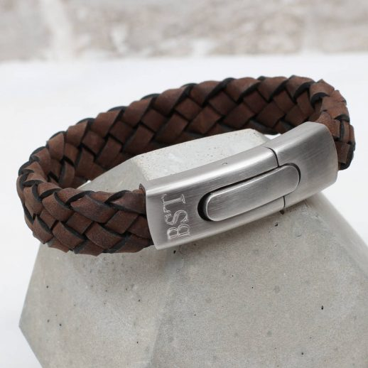 original_men-s-personalised-plaited-sueded-leather-bracelet