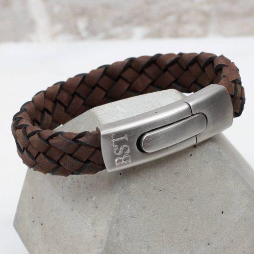 original_men-s-personalised-plaited-sueded-leather-bracelet