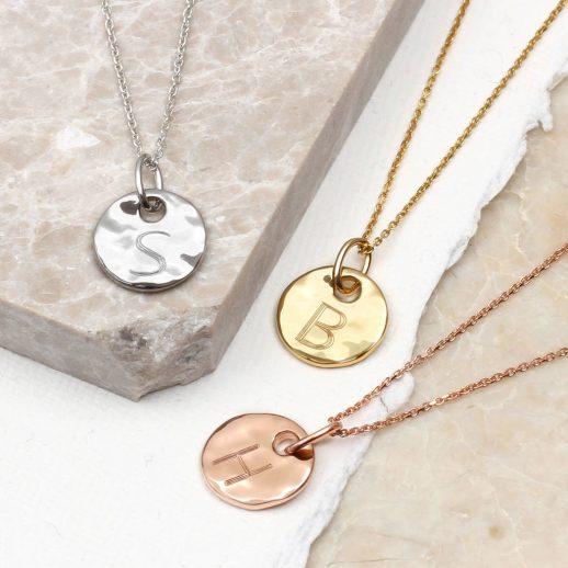 original_precious-metal-personalised-hammered-disc-necklace