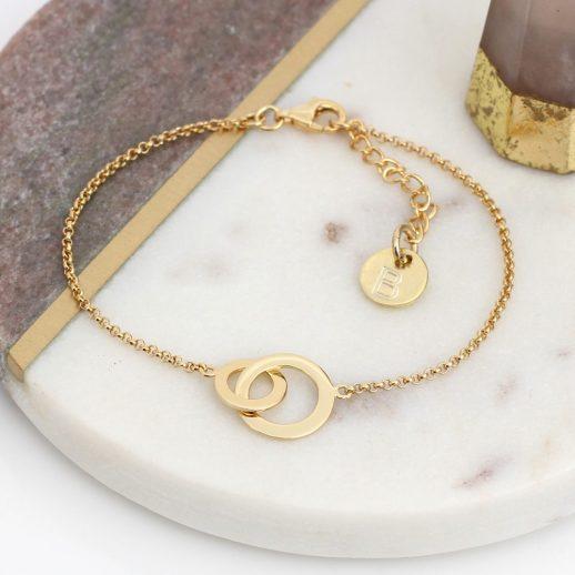 48Y - Verdana - Infinity rings bracelet