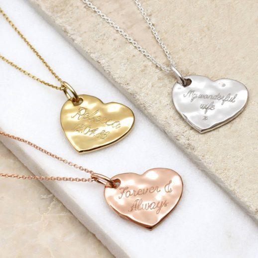 original_personalised-precious-metal-hammered-heart-necklace-1