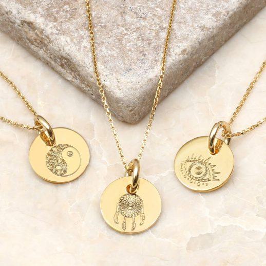original_personalised-yellow-gold-boho-charm-necklace