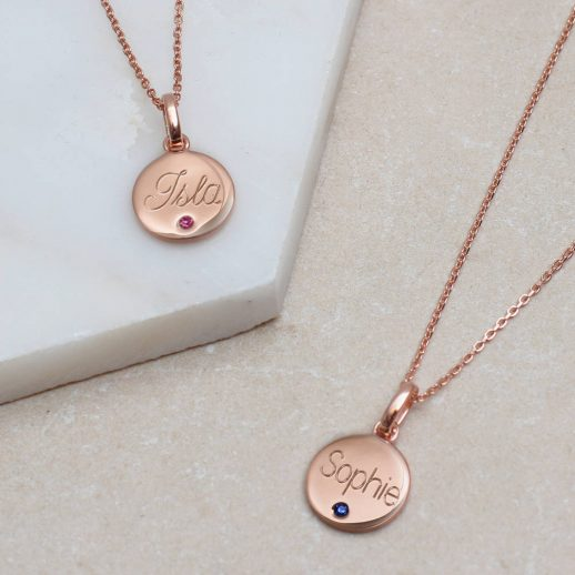 original_personalised-rose-gold-birthstone-disc-necklace