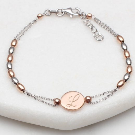 original_personalised-rose-gold-and-silver-bead-initial-bracelet