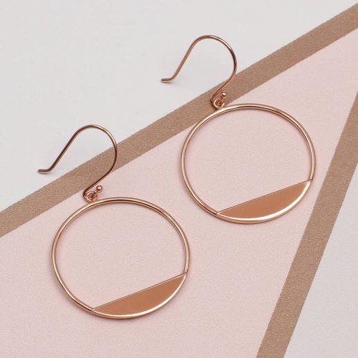 original_rose-gold-modern-circle-earrings