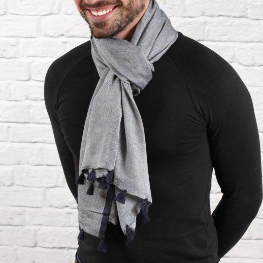 original_men-s-personalised-navy-contrast-stripe-scarf-1