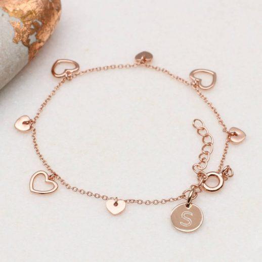 48R - Verdana - Hearts bracelet