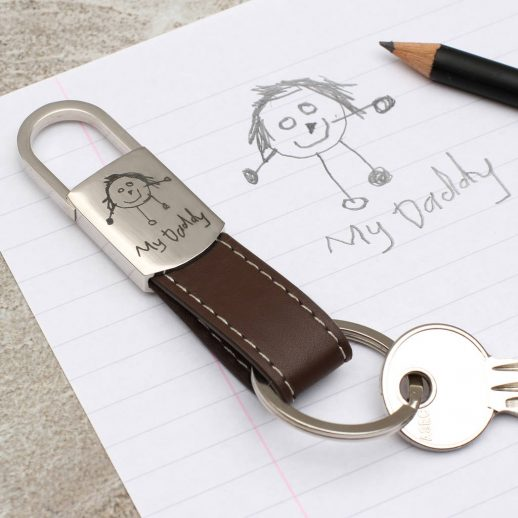 original_my-own-drawing-personalised-leather-keyring