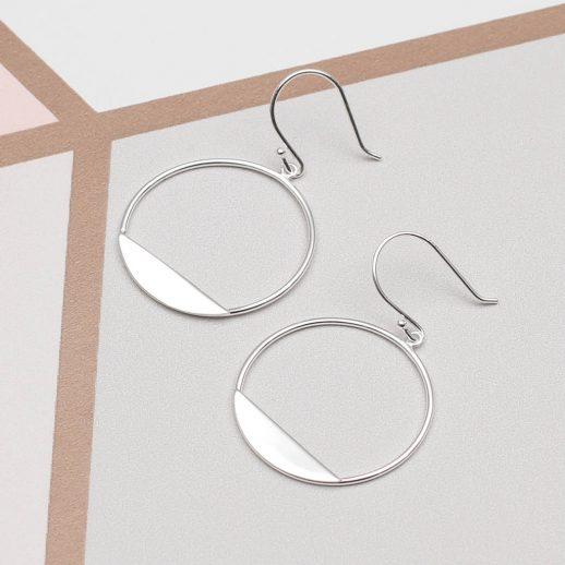 original_sterling-silver-modern-circle-earrings