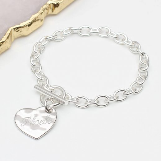 original_personalised-sterling-silver-hammered-heart-bracelet