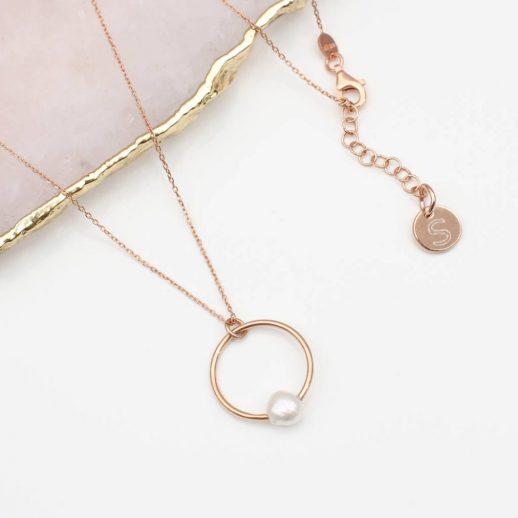 48R - Verdana Pearl Drop Necklace