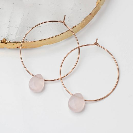 original_18ct-rose-gold-and-rose-quartz-hoop-earrings