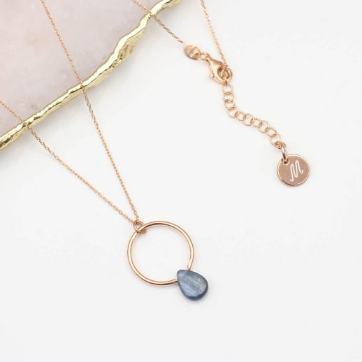 original_18ct-rose-gold-and-semi-precious-stone-necklace-4
