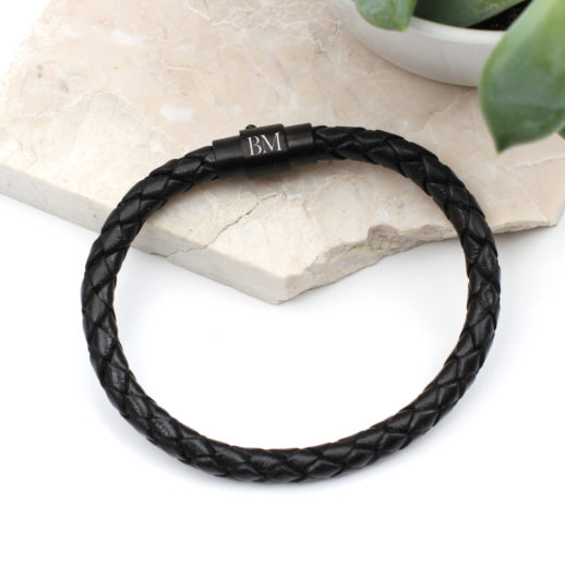 ruthenium-clasp-bracelet-leather-mens