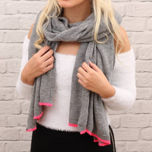 original_personalised-knitted-cashmere-neon-trim-blanket-scarf