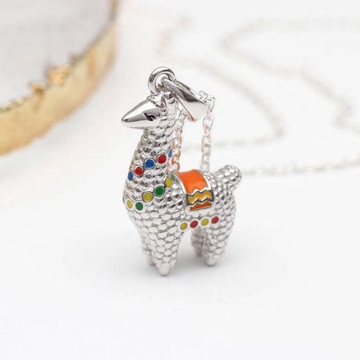 original_personalised-sterling-silver-and-enamel-llama-necklace