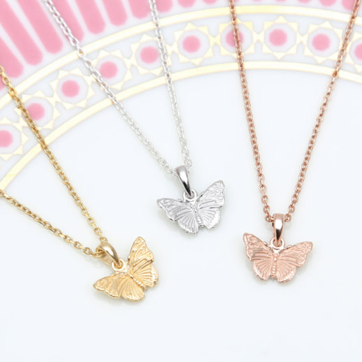 TinyButterflyNecklaces