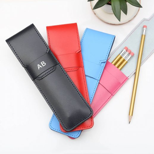 original_personalised-embossed-initials-leather-pencil-case-set