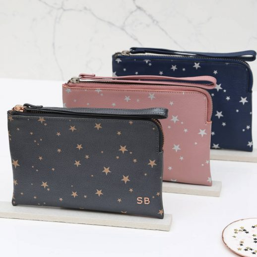 original_personalised-luxury-star-leather-wrist-strap-clutch-bag