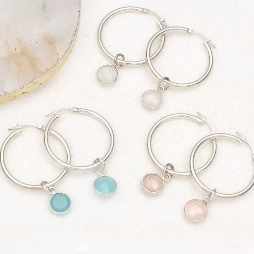 original_sterling-silver-and-semi-precious-hoop-earrings