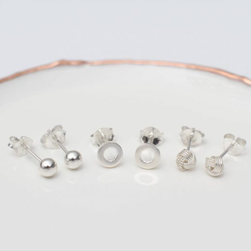 original_sterling-silver-set-of-three-stud-earrings