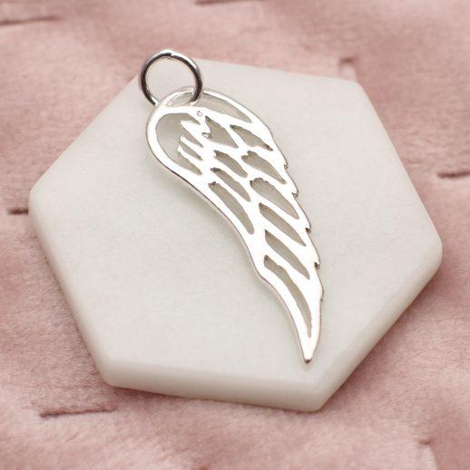 AngelWingCharm