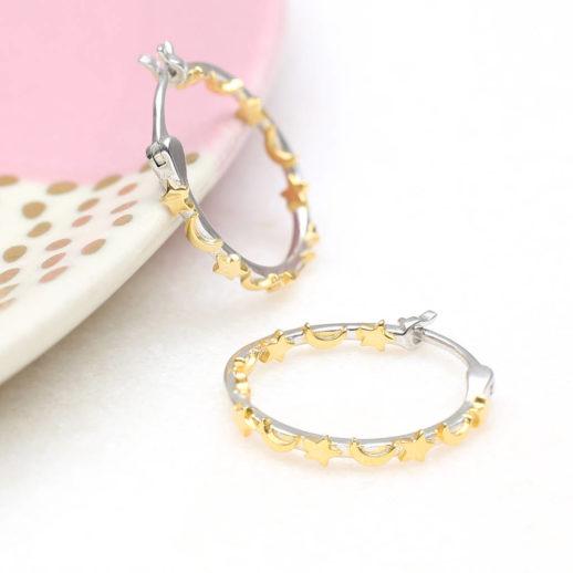 original_18ct-gold-and-sterling-silver-celestial-hoop-earrings-1
