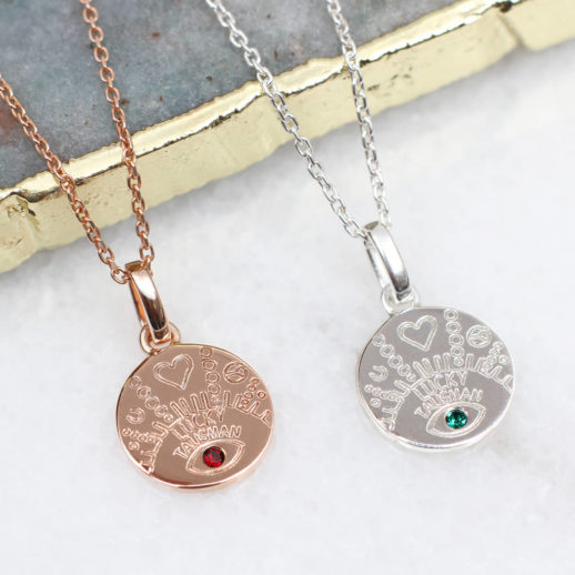 original_18ct-gold-or-silver-lucky-talisman-birthstone-necklace