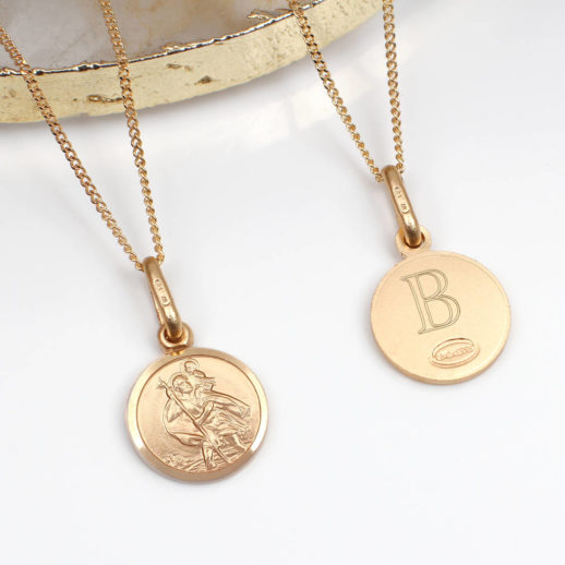 original_personalised-9ct-gold-mini-st-christopher-and-chain