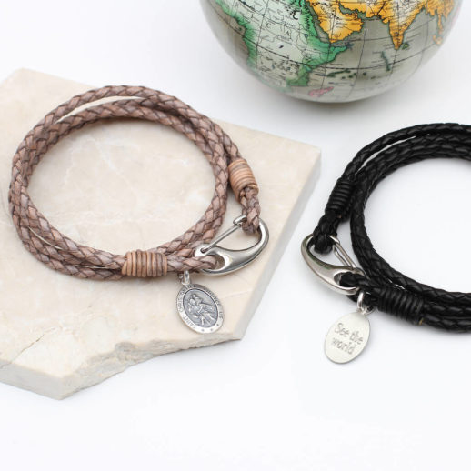original_personalised-leather-and-silver-st-christopher-bracelet-1