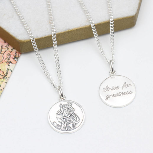 original_personalised-heavy-silver-st-christopher-necklace
